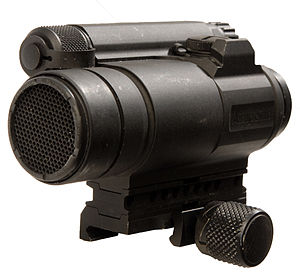 Aimpoint CompM4 - The U.S. Army's newest version of the M68 Close Combat Optic is the Aimpoint CompM4.