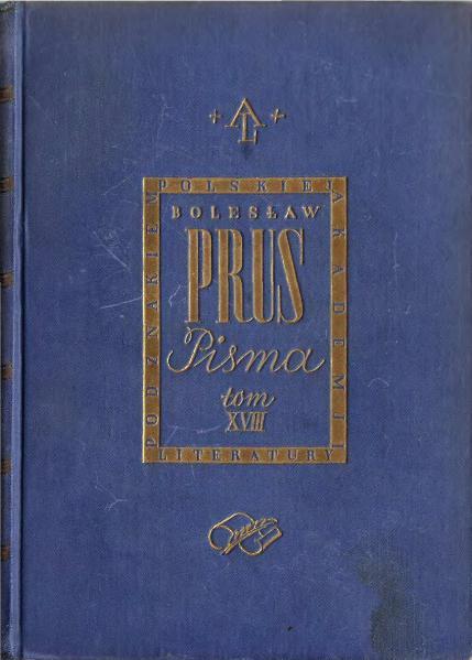 File:PL Bolesław Prus - Faraon 01.djvu
