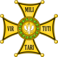 POL Sign Order Virtuti Militari Golden cross.png