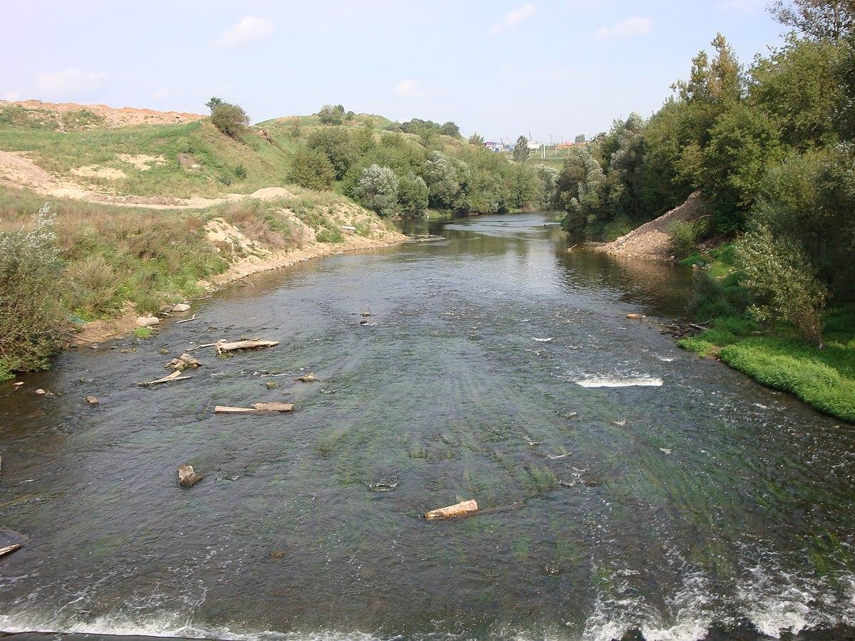 схема речной системы реки оки в рязани