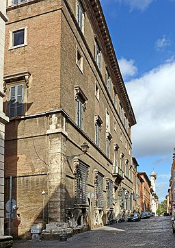 Palazzo Sacchetti Via Giulia (Rom)