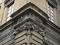Palazzo nonfinito, dettaglio del fregio angolare 02.JPG
