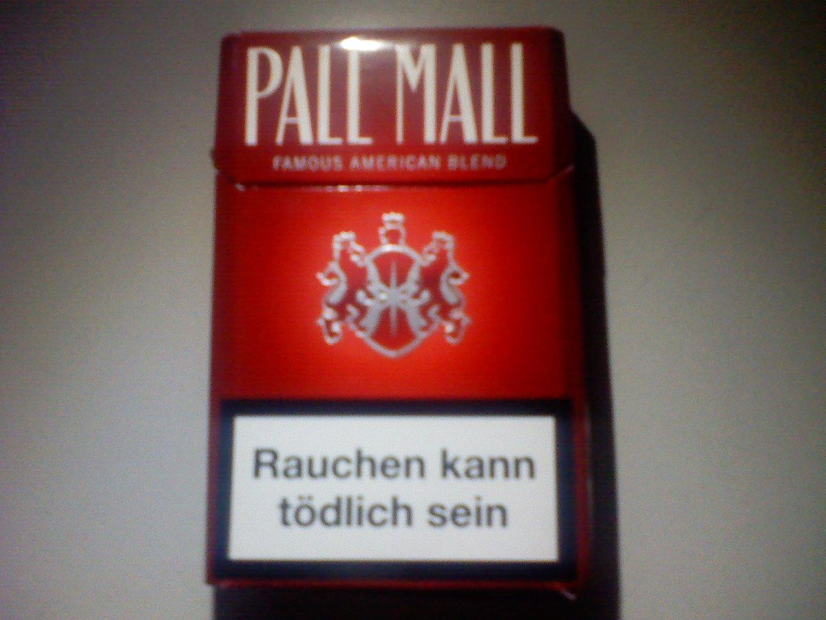 Pall Mall (Zigarettenmarke) – Wikipedia Pall Mall Black