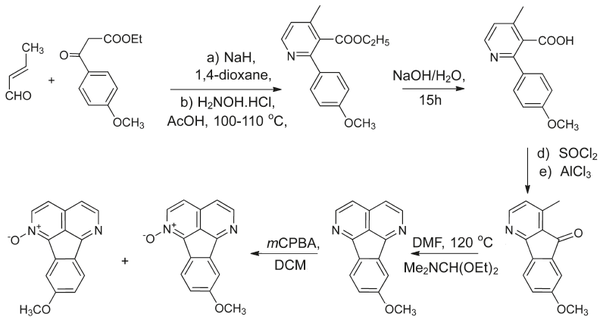 Pan's synthesis of Eupolauridine.png