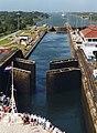 Panama Canal Gatun Locks opening.jpg