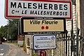 Panneau Ville fleurie Malesherbes Malesherbois 2.jpg