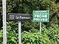 Panneau indiquant le Formans à Saint-Didier-de-Formans.JPG