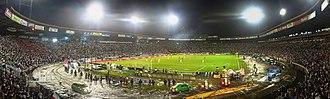 Estadio Palogrande - Image: Panorámica del Estadio Palogrande