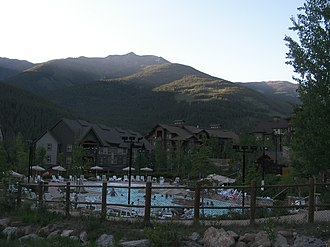 Panorama Mountain Village - Pools and upper village