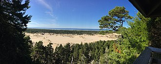 Richard L. Neuberger - Oregon Dunes National Recreation Area, as seen from the Overlook at 81100 US-101, Gardiner, OR 97441
