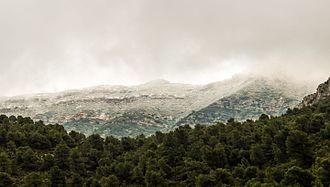 Djebel Serj - View of Djebel Serj