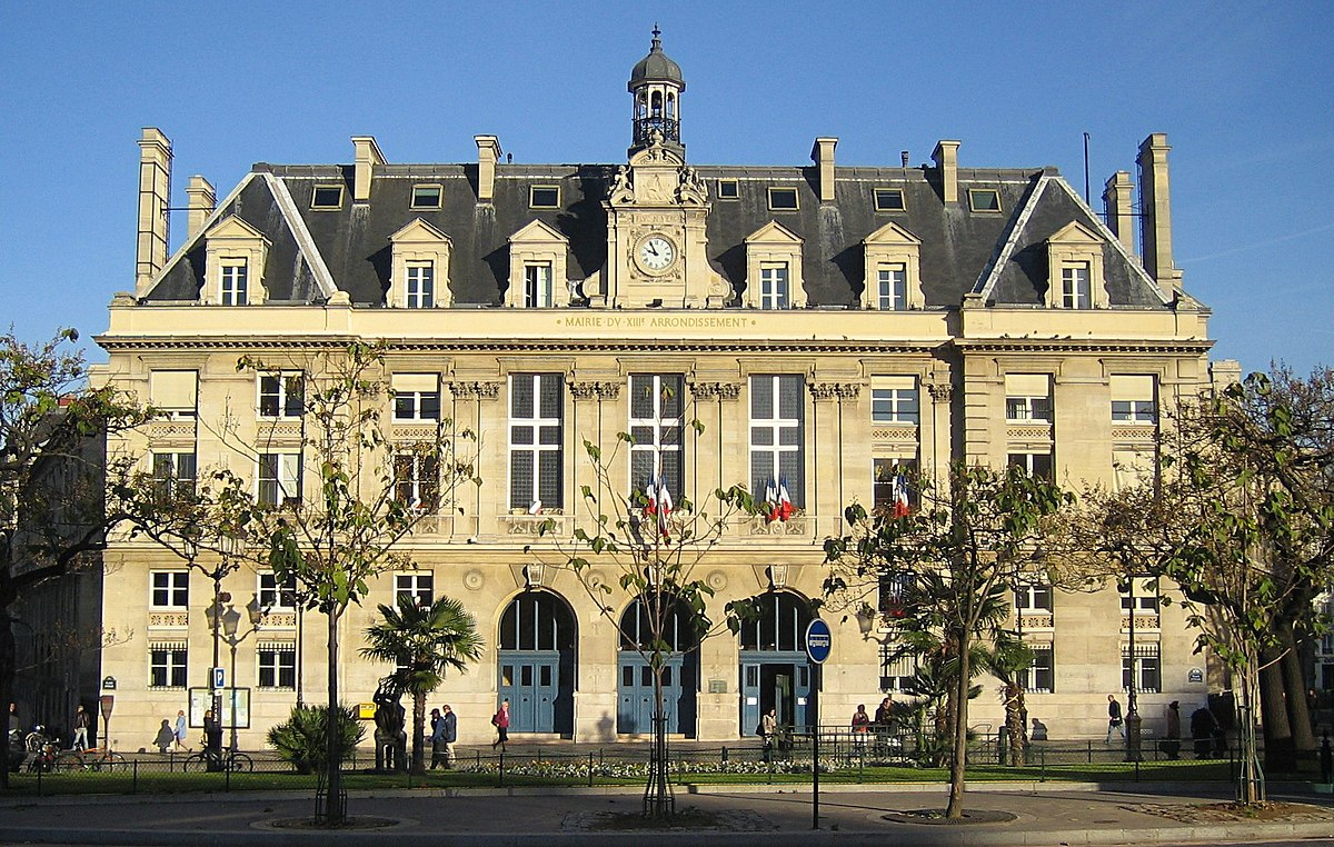 Mairie du 13e arrondissement de paris wikip dia for Bureau de change 13 arrondissement