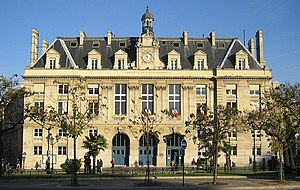 Place d'Italie - The mairie of the 13th arrondissement