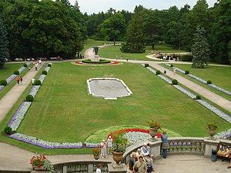 Palanga - Tiškevičiai Palace park