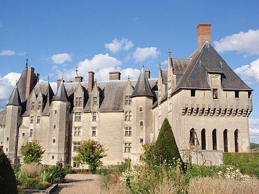 Parka fasado de la Chateau de Langeais 03