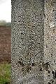 Parndorf Tabernakelbildstock Ried Draska Inschrift 1696.jpg