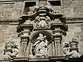 Part superior de la portada lateral de sant Joan del Mercat, València.JPG