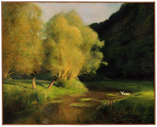 Pascal Adolphe Jean Dagnan-Bouveret - Willows by a Stream - 24.216 - Museum of Fine Arts