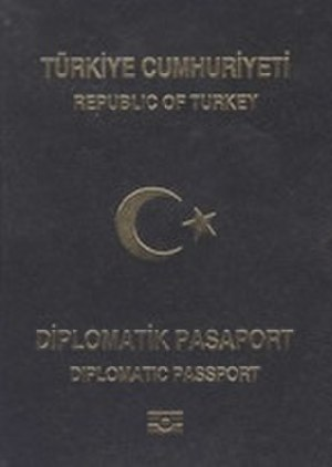 Turkish passport - Image: Passport turk