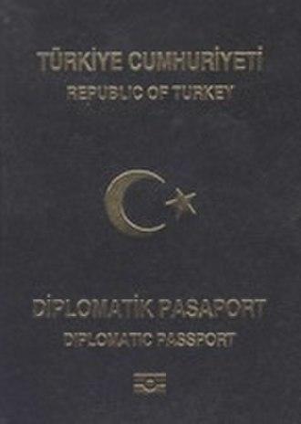 Turkish passport - Image: Passport turk