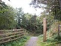 Path access to former Deeside Railway - geograph.org.uk - 1517136.jpg
