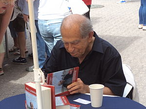 Paul Lendvai - Paul Lendvai at a book festival in Budapest, 2012