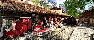 Krujë - Alley of the old market