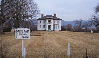 National Register of Historic Places listings in Pocahontas County, West Virginia - Image: Pearl Buck Birthplace February