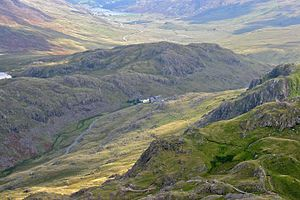 Pen-y-Pass - Pen-y-Pass from Crib Goch