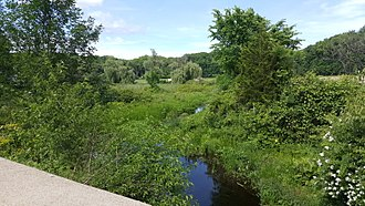 Pequest River - Headwaters of the Pequest near Springdale, in Andover Township, New Jersey