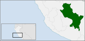 Neo-Inca State - Modern Department of Cusco within Peru; the limits of the Neo-Inca State are unclear