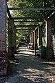 Pergola around Sunken Garden, IBM Hursley Laboratory - geograph.org.uk - 969680.jpg
