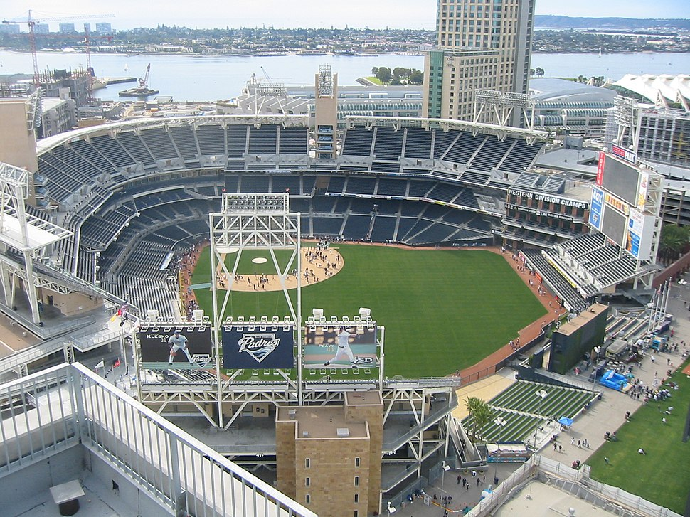 Petco Park from above