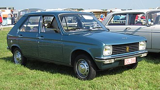 PSA Mulhouse Plant - The Peugeot 104 was the first car assembled at what had, till that time, been Peugeot's transmission factory