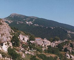 Skyline of Peyresq