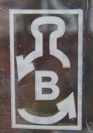 "Container deposit legislation - Deposit symbol in Estonia (""B"" on a 1.5 L-bottle)"