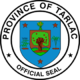 Official seal of Tarlac