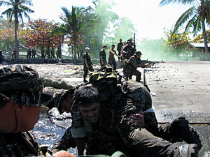 Naval Base Cavite - Image: Philippine Navy Special Warfare Group(SWAG)