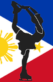 Philippines figure skater pictogram.png