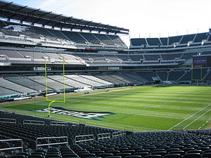Blick in das Lincoln Financial Field