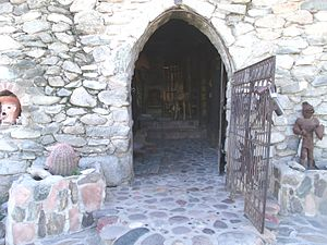 Mystery Castle - Image: Phoenix Mystery Castle Main Entrance