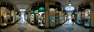 Piccadilly Arcade - A 360 degree view from inside the arcade