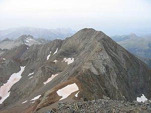 Espadas Peak - Image: Pico Espadas 1