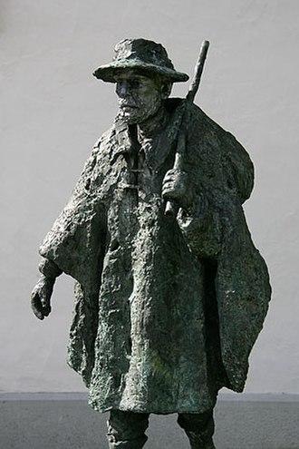 Sempach - Statue at the Luzernertor