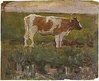 Piet Mondriaan - Brown and white heifer - 0334212 - Kunstmuseum Den Haag.jpg