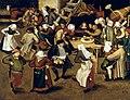 Pieter Brueghel II - Peasant Wedding , 1620 (National Gallery of Ireland).jpg