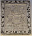 Pietra tombale di antonio ii ordelaffi, dal duomo di forlì.JPG