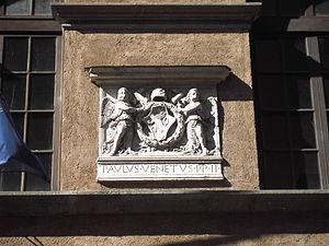 Palazzo Venezia - Arms of Pietro Barbo, Pope Paul II.