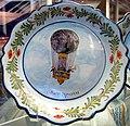 Pilatre Desroziers 1784 plate - Udvar-Hazy Center.JPG