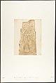 Pilier du Sanctuaire de granit du Palais de Karnac (Bas-relief représentant le Pharaon Thotmès III et la Déesse Nauth) MET DP131879.jpg
